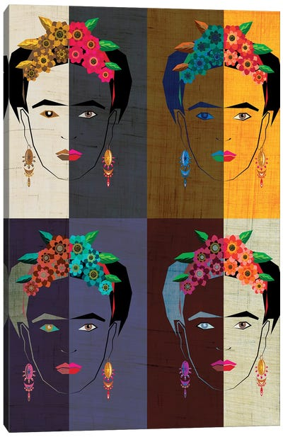 Frida II Canvas Art Print