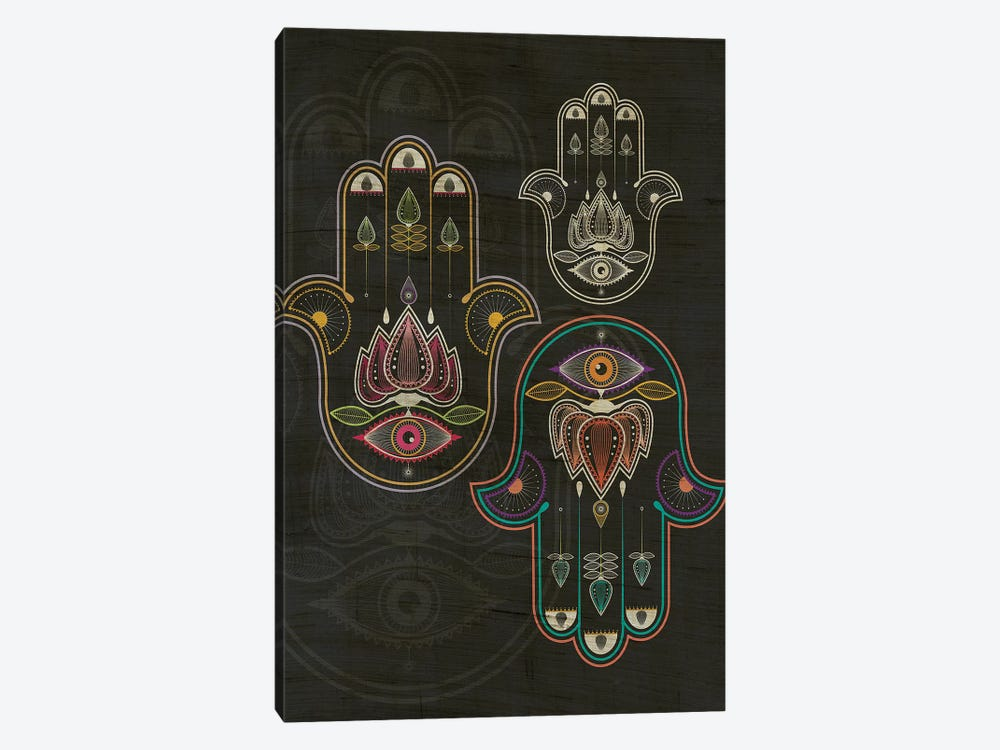 Hamsa 1-piece Canvas Art Print