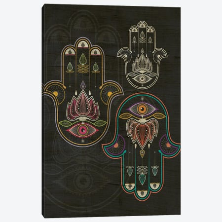Hamsa Canvas Print #CHH42} by Chhaya Shrader Canvas Art