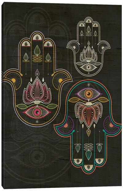 Hamsa Canvas Art Print