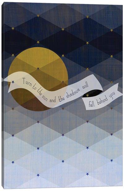 Maori Shadows Proverb Canvas Art Print