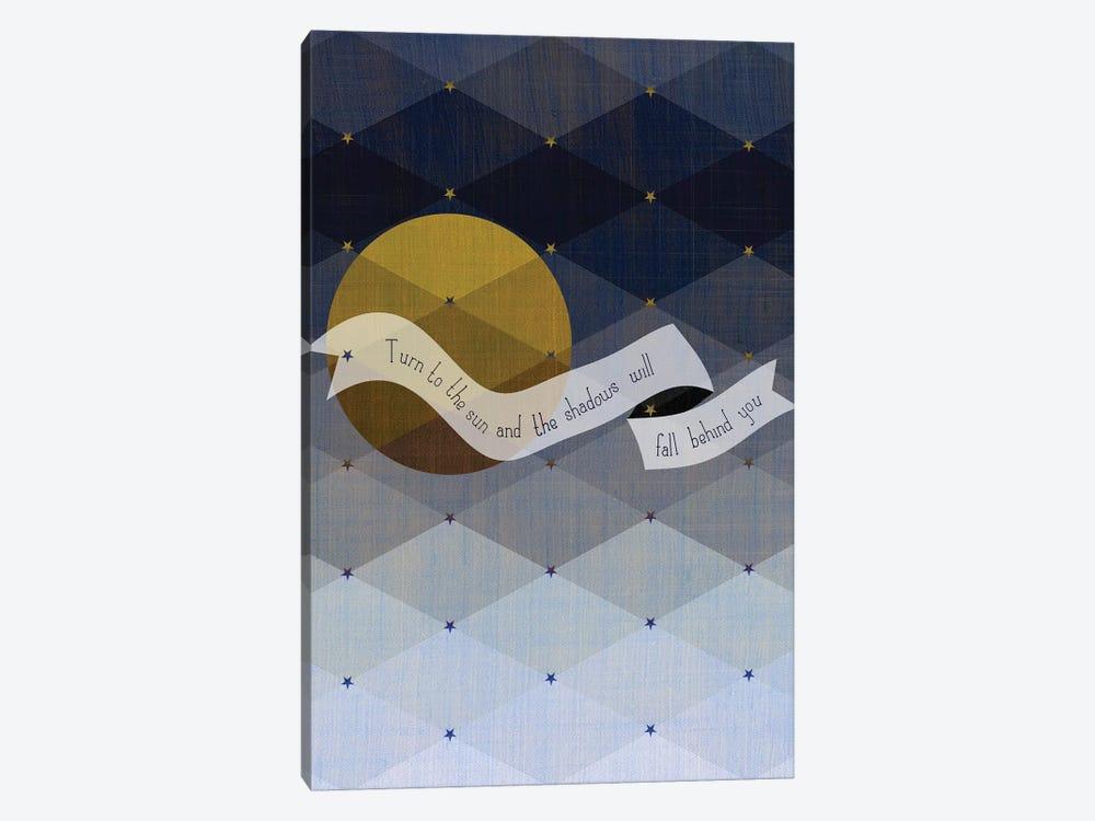Maori Shadows Proverb by Chhaya Shrader 1-piece Canvas Print