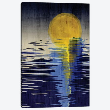 Moonrise Canvas Print #CHH49} by Chhaya Shrader Canvas Art