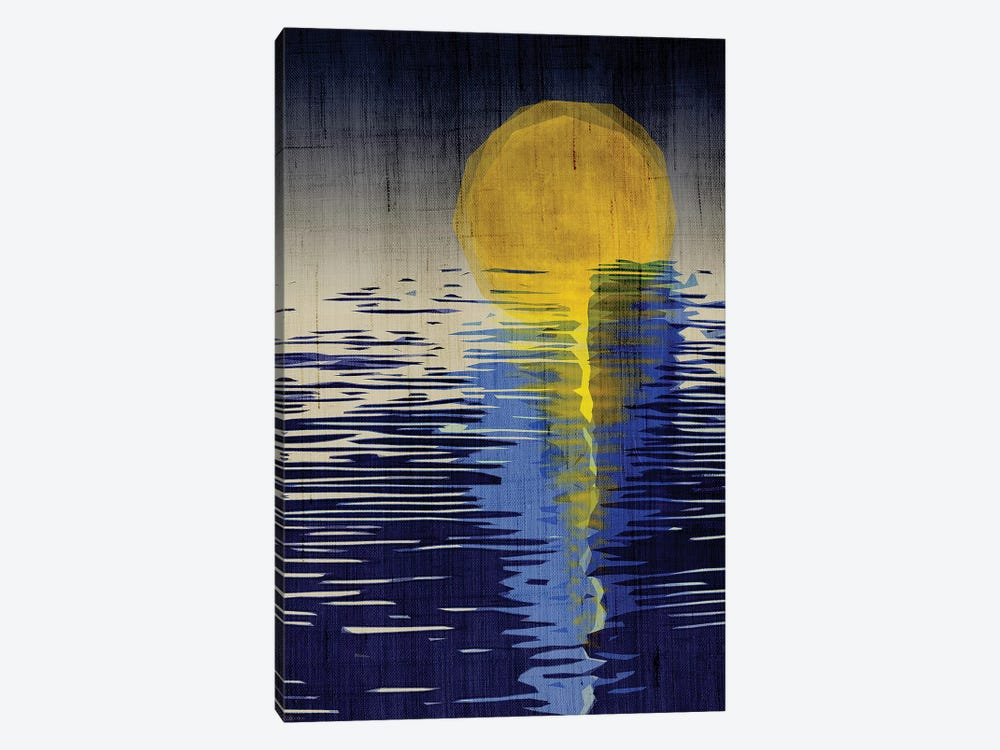 Moonrise by Chhaya Shrader 1-piece Canvas Wall Art