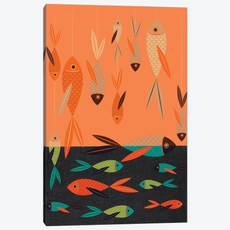 Fish Canvas Print #CHH9} by Chhaya Shrader Canvas Print