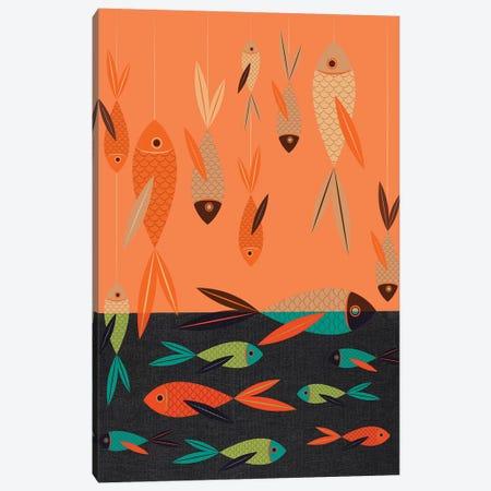 Fish Canvas Print #CHH9} by Chhaya Shrader Canvas Print