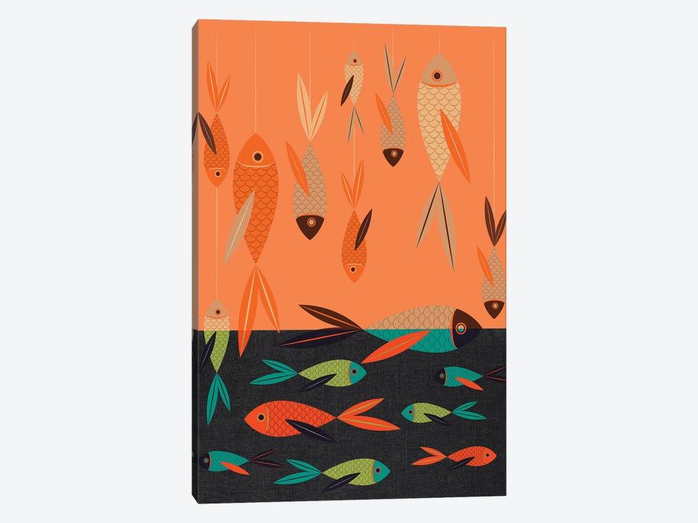 Fish by Chhaya Shrader 1-piece Art Print