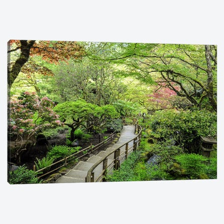 Stairway To Paradise Canvas Print #CHK12} by Chuck Burdick Canvas Artwork