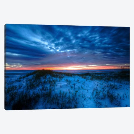 Sunset Canvas Print #CHK13} by Chuck Burdick Canvas Artwork