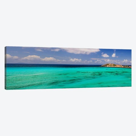 Caribbean Waters Canvas Print #CHK1} by Chuck Burdick Canvas Artwork