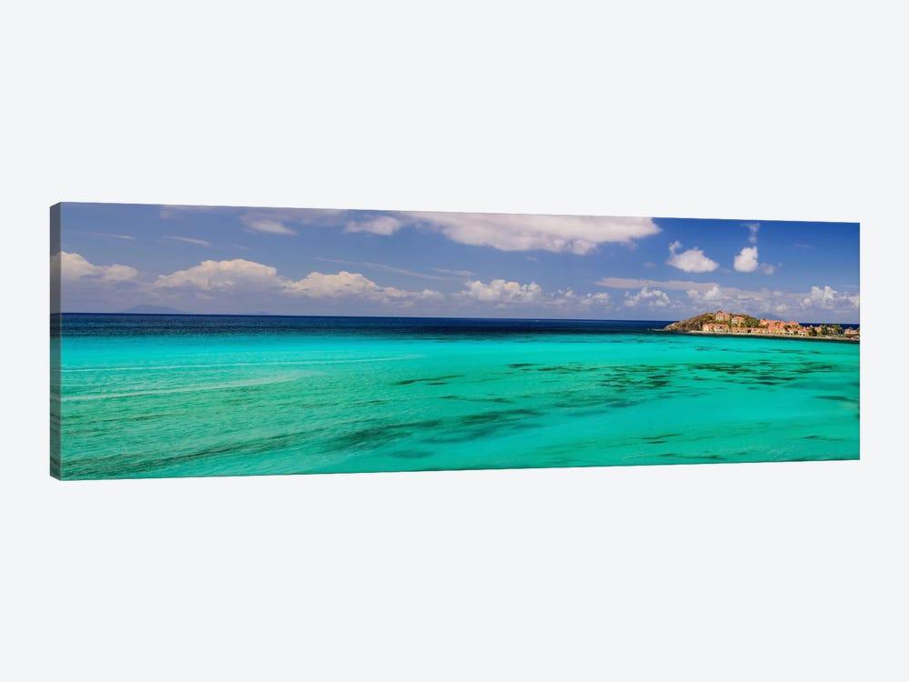 Caribbean Waters by Chuck Burdick 1-piece Canvas Artwork