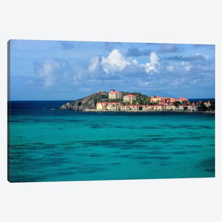 Island Haven Canvas Print #CHK6} by Chuck Burdick Canvas Art Print