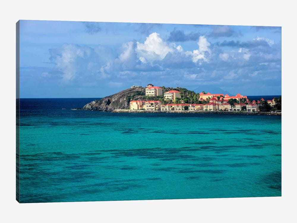 Island Haven by Chuck Burdick 1-piece Art Print
