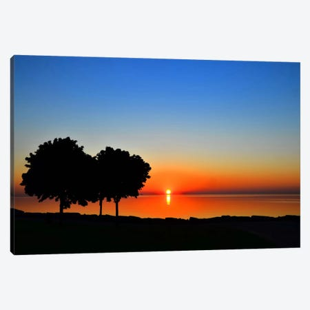 Rise And Shine Canvas Print #CHK9} by Chuck Burdick Canvas Wall Art
