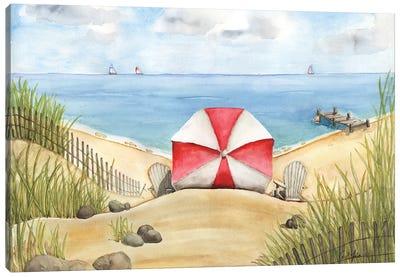 Beach Bliss Canvas Art Print