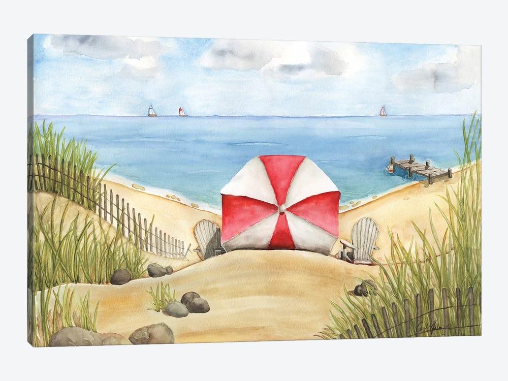 Beach Bliss by Carol Halm 1-piece Canvas Artwork