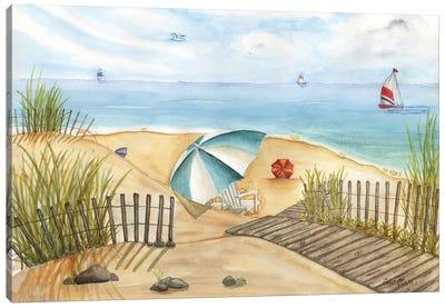Beach Interlude Canvas Art Print