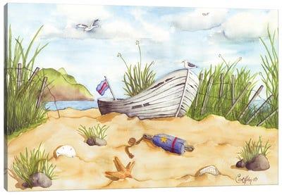 Beach Treasures Canvas Art Print