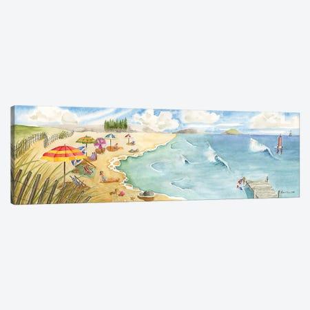Sand and Surf Canvas Print #CHM6} by Carol Halm Canvas Art Print