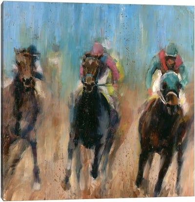 Run Canvas Art Print