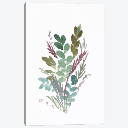 Farmhouse Florals I Canvas Print #CHP11} by Marcy Chapman Canvas Print