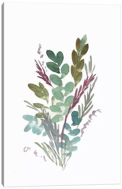 Farmhouse Florals I Canvas Art Print
