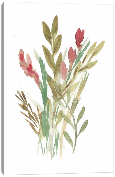 Farmhouse Florals IV Canvas Art Print