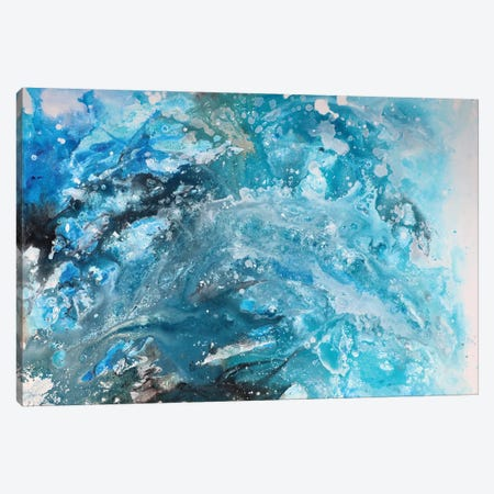 Galaxy abstract Canvas Print #CHP14} by Marcy Chapman Canvas Wall Art