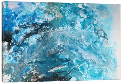 Galaxy abstract Canvas Art Print