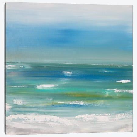 Ocean vertical landscape  Canvas Print #CHP15} by Marcy Chapman Canvas Artwork
