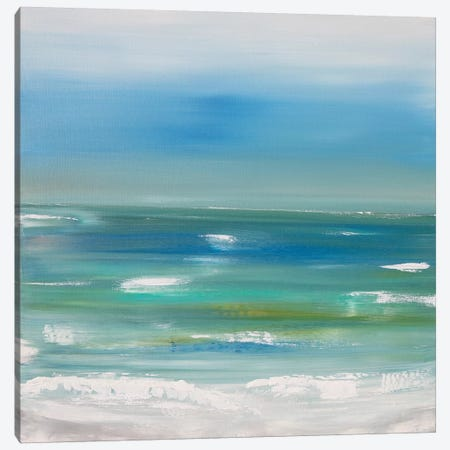 Ocean vertical landscape  Canvas Print #CHP15} by Marcy Chapman Canvas Artwork