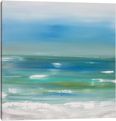 Ocean vertical landscape  Canvas Art Print