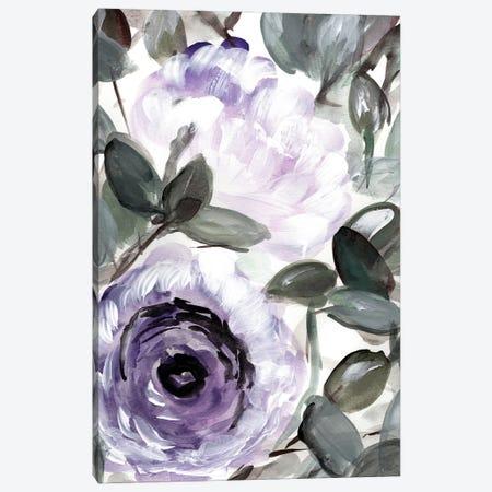 Farmhouse Bush Purple I Canvas Print #CHP29} by Marcy Chapman Canvas Art