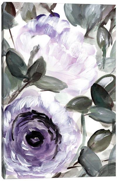 Farmhouse Bush Purple I Canvas Art Print