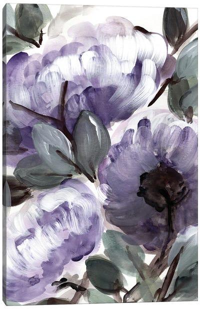 Farmhouse Bush Purple II Canvas Art Print