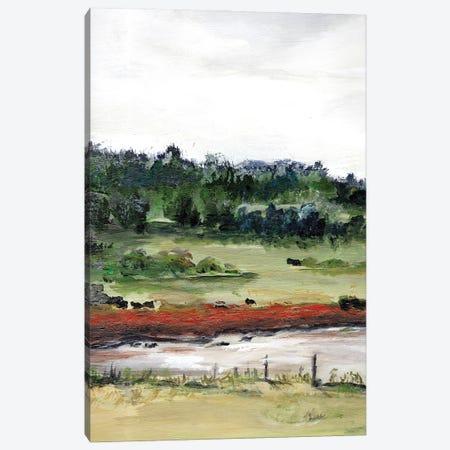 Farmhouse Fields I Canvas Print #CHP31} by Marcy Chapman Canvas Print