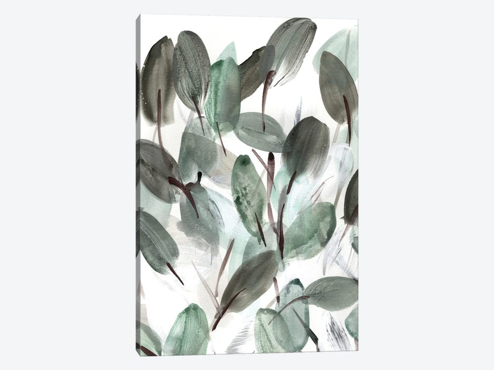 Farmhouse Leafy I by Marcy Chapman 1-piece Canvas Art