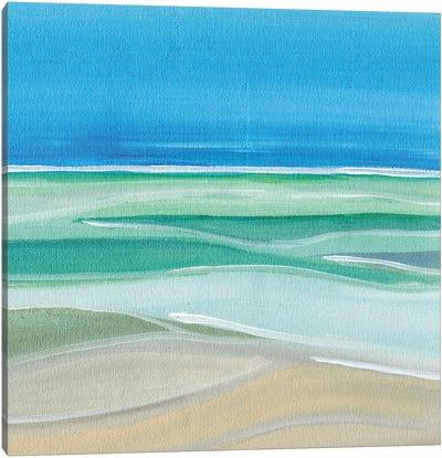 Hinting At Summer Canvas Art Print