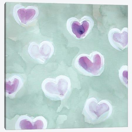 Luv U Canvas Print #CHP39} by Marcy Chapman Art Print
