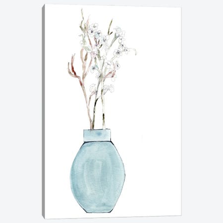 Simply Blue Canvas Print #CHP44} by Marcy Chapman Canvas Print