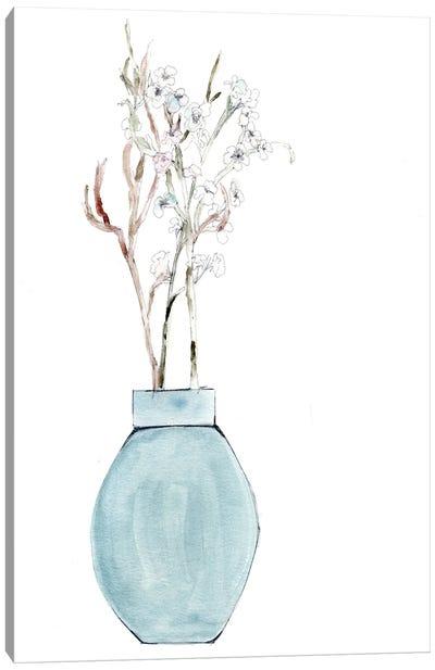 Simply Blue Canvas Art Print