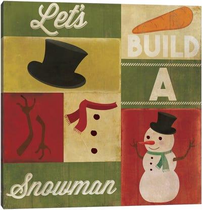 A Winter Tradition Canvas Art Print