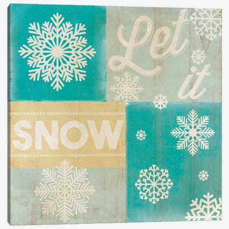 Hoping For A Snow Day Canvas Print #CHR5} by 5by5collective Canvas Print