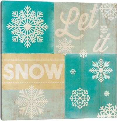 Hoping For A Snow Day Canvas Art Print