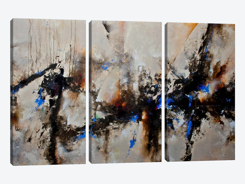 Sands of Time III by CH Studios 3-piece Canvas Print