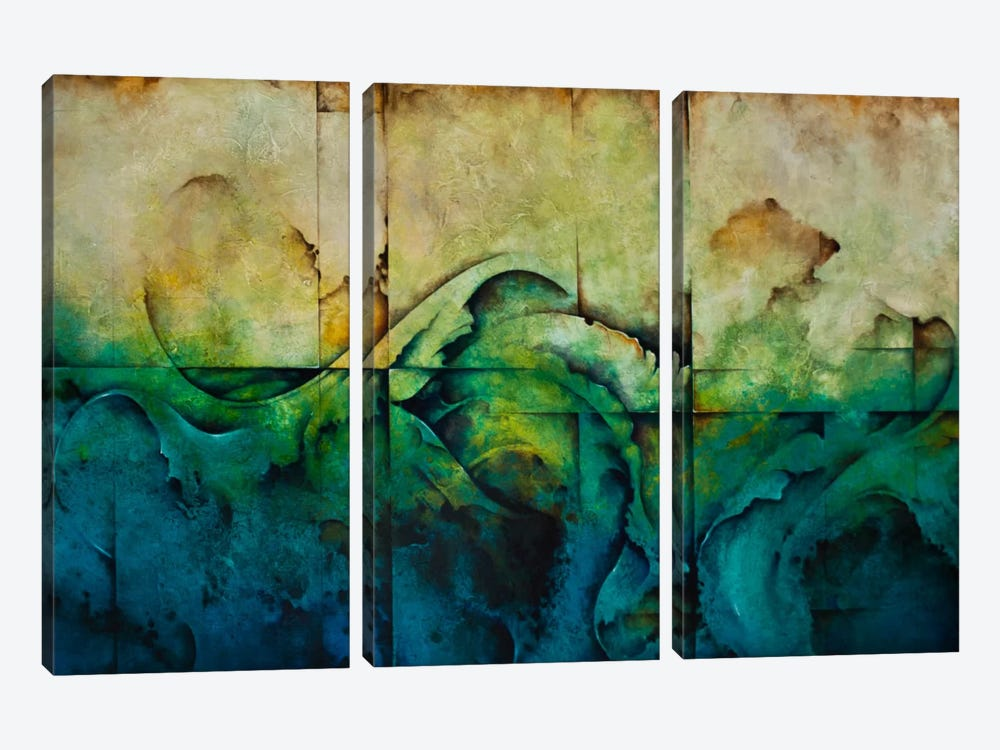 Paradise by CH Studios 3-piece Canvas Wall Art