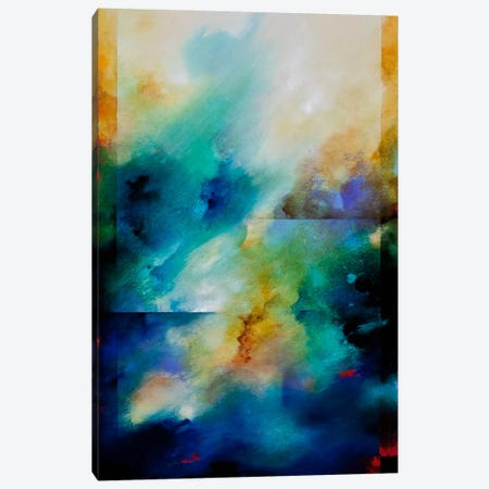 Aqua Breeze Canvas Print #CHS1} by CH Studios  Art Print