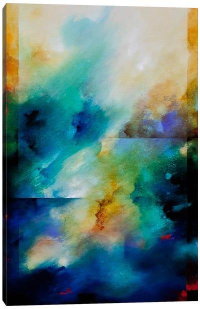 Aqua Breeze Canvas Art Print