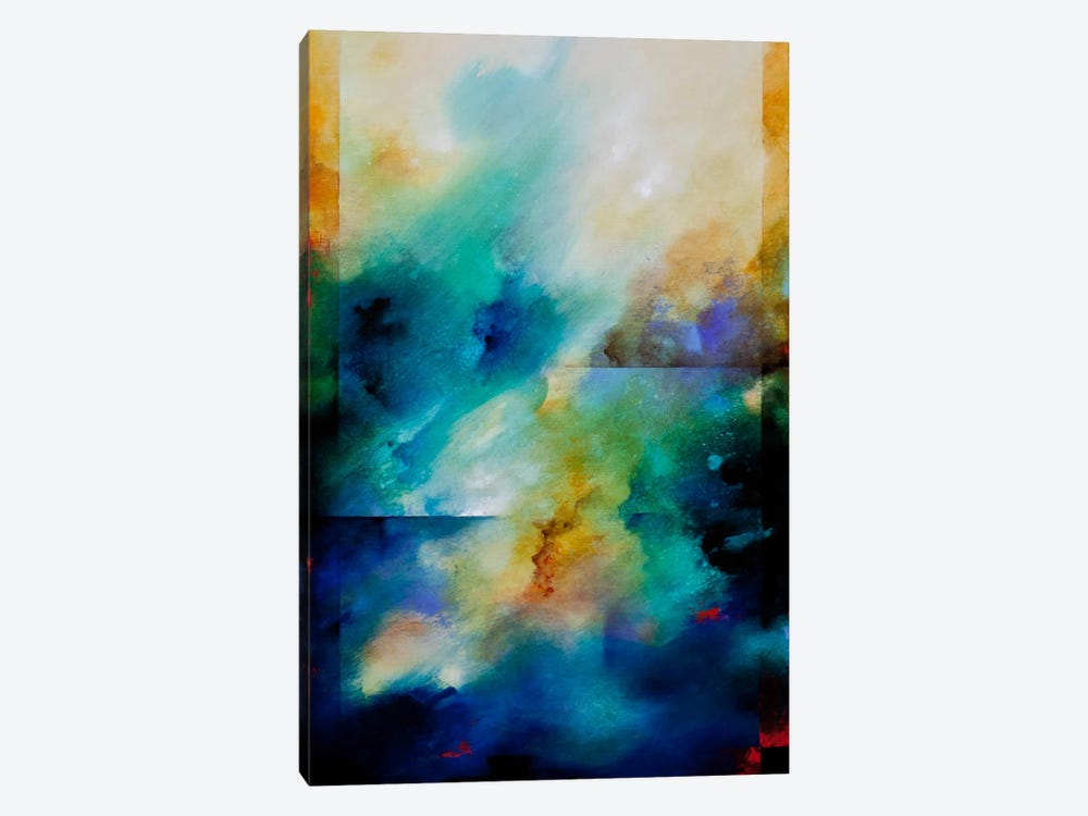Aqua Breeze by CH Studios 1-piece Canvas Wall Art