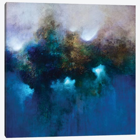 Blue Waters Canvas Print #CHS23} by CH Studios Canvas Art Print